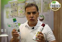 Lançamento do Óleo de coco extravirgem orgânico em SPRAY da Finococo