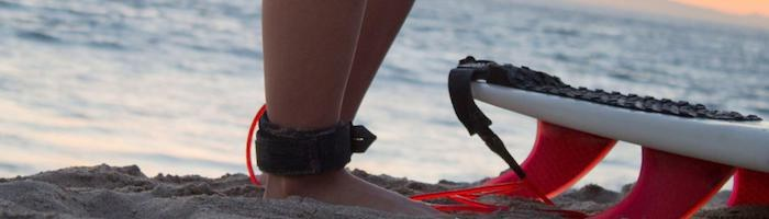 Guia - Como Escolher um Leash de Surf