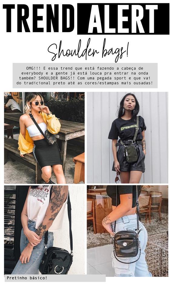 TREND ALERT - Shoulder Bags!